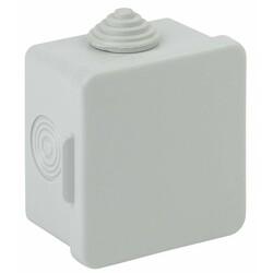 Коробка распаячн. открытой установки КОР 65х65х50мм с гермовводами 4 вх. IP54 (150) ЭРА