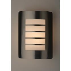 Декоративная подсветка светодиодная  WL22  E27 MAX60W IP54 хром/белый  ЭРА