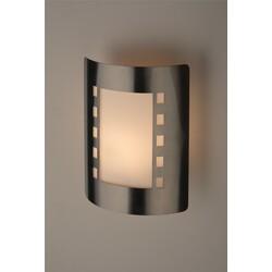 Декоративная подсветка светодиодная  WL23  E27 MAX60W IP54 хром/белый  ЭРА