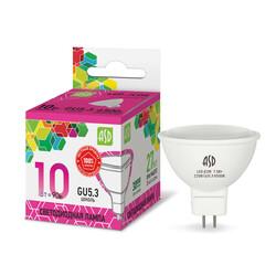 Лампа светодиодная LED-JCDR-standard 10Вт 230В GU5.3 6500К 900Лм ASD