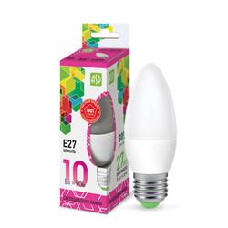 Лампа светодиодная LED-СВЕЧА-standard 10Вт 230В Е27 6500К 900Лм ASD