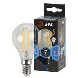Лампа светодиодная  F-LED P45-7w-840-E14 ЭРА