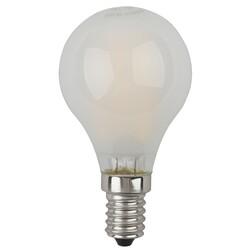 Лампа светодиодная  F-LED P45-5w-827-E14 frost ЭРА
