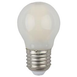 Лампа светодиодная  F-LED P45-5w-840 E27 frost ЭРА
