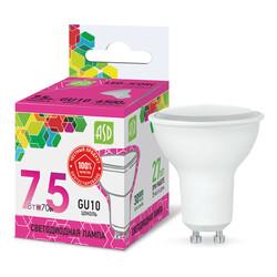 Лампа светодиодная LED-JCDRC-standard 7.5Вт 160-260В GU10 6500К 600Лм ASD