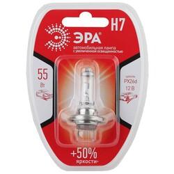 H7 12V 55W+50%Px26d BL Лампа головного света ЭРА