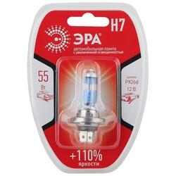 H7 12V 55W+110% Px26d BL Лампа головного света ЭРА