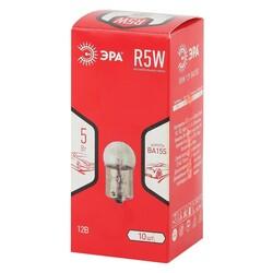 R5W 12V BA15S Стояночные огни ЭРА