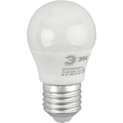 Лампа светодиодная  LED smd Р45-8w-827-E27 ECO ЭРА