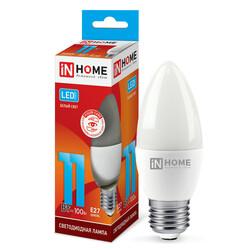 Лампа светодиодная LED-СВЕЧА-VC 11Вт 230В Е27 4000К 820Лм IN HOME