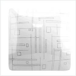 Свет-к с/д (потолочный) СЛЛ 017 24Вт 6К Роса  (320х320х75) (10) LEEK