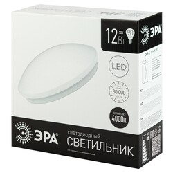 "Светодиодный светильник SPB-6-12-4K (F) 12Вт 4000K 960Лм ""Элемент"" 263х86 ЭРА"