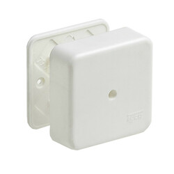 65015 Коробка унив. для кабель-каналов 85х85х45 мм (уп. 120 шт.) РУВИНИЛ