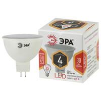 Лампа светодиодная  LED smd MR16-4w-827-GU5.3 ЭРА