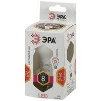 Лампа светодиодная  LED smd R63-8w-827-E27 ЭРА