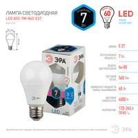 Лампа светодиодная  LED smd A55-7w-840-E27 ЭРА