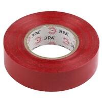 Изолента-ПВХ 15мм*20м красная 043713 ЭРА