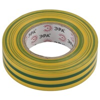 Изолента-ПВХ 15мм*20м желто-зеленая 043799 ЭРА