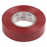 Изолента-ПВХ 19мм*20м красная 043577 ЭРА