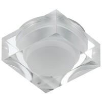Светильник DK D2 LED квадр. 3LED*1W,280Lm,3200K, белый ЭРА