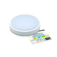 Светильник герметичный СПП-2301(банник) круг 12Вт 4000К 960Лм IP65 230мм LLT