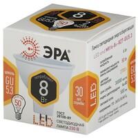 Лампа светодиодная  LED smd MR16-8w-827-GU5.3 ЭРА