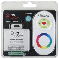 Контроллер RGB-12-A04-RF для RGB-W ленты на 12v 180вт  (120/720) ЭРА 669990