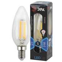 Лампа светодиодная  F-LED B35-5w-840-E14 ЭРА