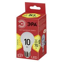 Лампа светодиодная  LED smd  A60-10w-827-E27 ECO ЭРА