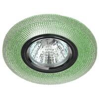 Светильник DK LD1 GR  декор cо светодиодной подсветкой (3W), зеленый  ЭРА
