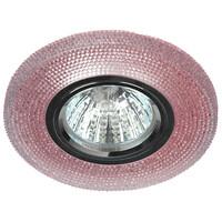 Светильник DK LD1 PK декор cо светодиодной подсветкой (3W), розовый  ЭРА