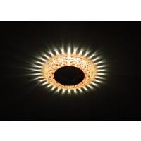 Светильник DK LD4 TEA/WH  декор c белой светодиодной подсветкой (3W),  чай ЭРА