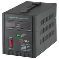 СНПТ-1000-Ц ЭРА Стабилизатор напряжения переносной, ц.д., 1000ВА