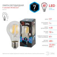 Лампа светодиодная  F-LED A60-7w-840-E27 ЭРА