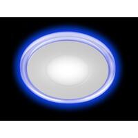 Светильник светодиодный LED 3-6 BL с синей подсветкой 6w 220v 4000k 664520 ЭРА