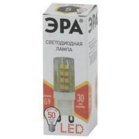 Лампа светодиодная  LED smd JCD-5w-220V-corn, ceramics-827-G9 ЭРА
