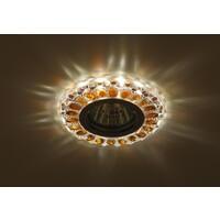 Светильник DK LD10 SL OR/WH  декор cо светодиодной подсветкой MR16, прозрачный оранжевыйЭРА