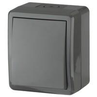 11-1401-03 Выключатель IP54, 10АХ-250В серый ЭРА