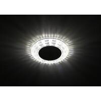 Светильник DK LD8 SL/WH  декор cо светодиодной подсветкой прозрачный ЭРА