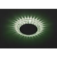 Светильник DK LD24 GR/WH  декор cо светодиодной подсветкой Gx53, зеленый  ЭРА