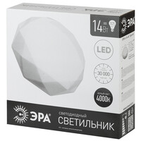 """Светодиодный светильник SPB-6-12Вт, 4000К, 980 Лм, """"Sparkle"""", 280*90 мм ЭРА"""