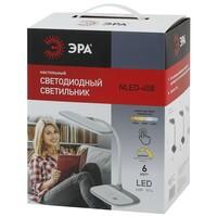 Светильник настольный  NLED-458-6W-W белый ЭРА