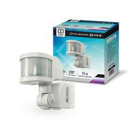 Датчик движения инфракрасный ДД-020-W 800Вт 6м IP33 белый LLT