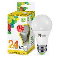 Лампа светодиодная LED-A65-standard 24Вт 160-230В  Е27 3000К 2160Лм ASD