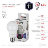 Лампа светодиодная  LED smd A60-11w-860-E27 ЭРА