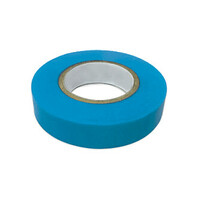 Изолента ПВХ 15мм 20м синяя  (10шт) IN HOME