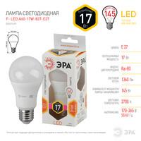 Лампа светодиодная  LED smd A60-17w-827-E27 ЭРА