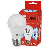Лампа светодиодная  LED smd  A60-12w-840-E27 ECO ЭРА