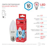 Лампа светодиодная  LED smd B35-10w-840-E27 ECO ЭРА