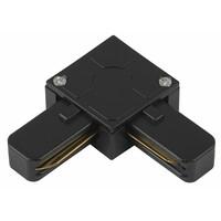 Коннектор для трекового светильника TR7-C 2W L BK угловой черный  ЭРА